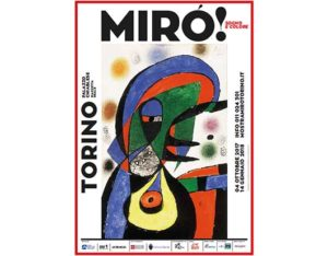 mostra Mirò Palazzo Chiablese
